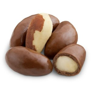 Dragee de castanha do pará 70% cacau 100g