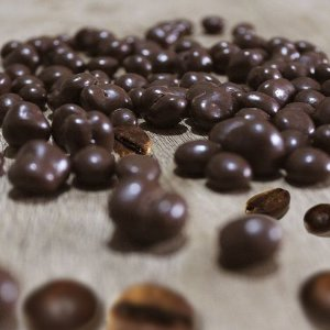 Dragee de grao de café 70% 100g