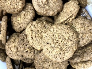 Cookies de aveia com canela 0 açúcar 100g