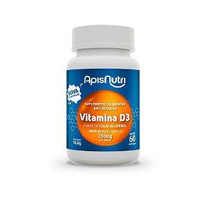 60 Cápsulas de Vitamina D3