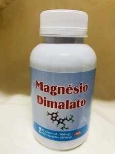 100 Cápsulas de cloreto de dimalato