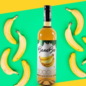 Cachaça banana bee 750ml