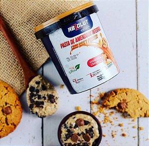 Pasta de amendoim com whey protein sabor cookies and cream 500g