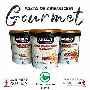 Pasta de amendoim com whey protein sabor beijinho 500g