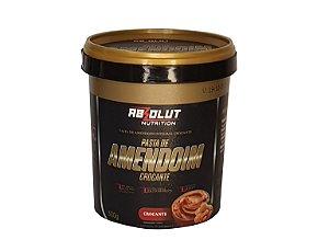 Pasta de amendoim integral crocante 500g