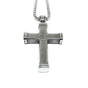 Crucifixo aço Premium Warrior