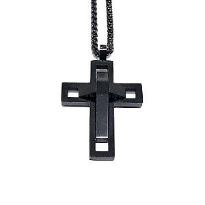 Colar Cross Future aço Premium nobre [série limitada]