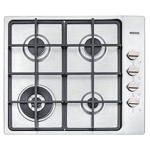 Cooktop Inox Square 4GX Tri 60