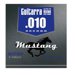 Encordoamento Guitarra 0.10 Mustang Níquel