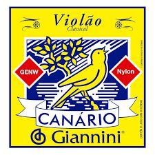 Encordoamento Canário Violão Nylon Giannini GENW
