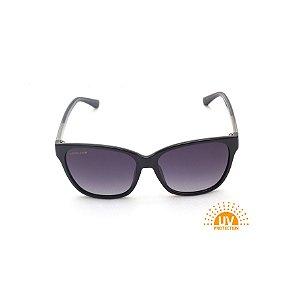 Óculos de Sol Quadrado Preto Verniz Afrikan