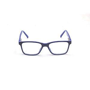 Armação para Óculos de Grau Infantil Masculino Preto e Azul