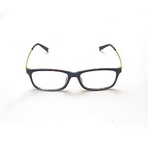 Armação para Óculos de Grau Retangular Preto Derci