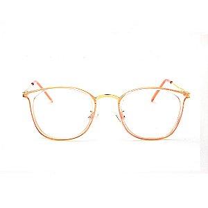Armação para Óculos de Grau Acrílico Rosa Bruna