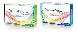 Lente de Contato Colorida Mensal Natural Vision Glamour
