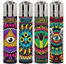 Isqueiro Clipper - GRANDE (estampas variadas)