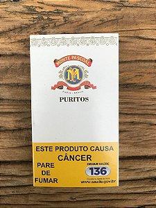 Charuto Monte Pascoal Puritos - Petaca com 10