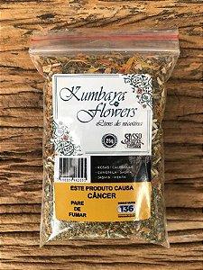 Tabaco Natural Kumbaya Flowers – 25g (sem tabaco)