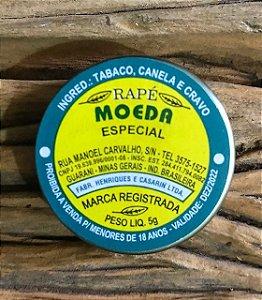 RAPÉ MOEDA - ESPECIAL (CANELA E CRAVO)