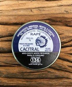 Rapé Guarani (Cacitral ) 6 gr