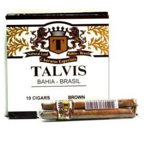CIGARRILHA TALVIS 10X10 – CHOCOLATE