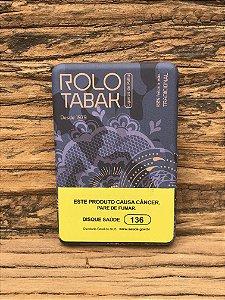 Cigarro de Palha Com Filtro Rolo Tabak Lata Metal