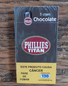 Charuto  Phillies Titan - Chocolate - CX