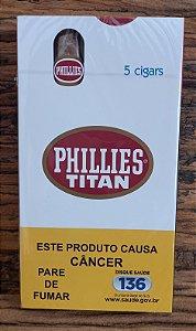 Charuto Phillies Titan - Tradicional - CX