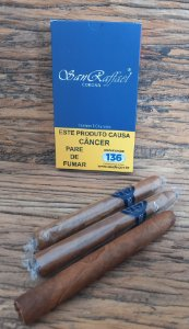 CHARUTO SAN RAFFAEL CORONA BLUE BAUNILHA - P/5
