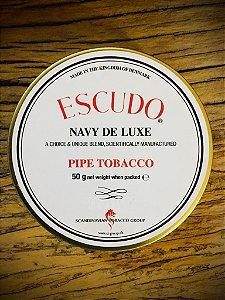 Fumo para Cachimbo Escudo Navy De Luxe - Lata (50g)