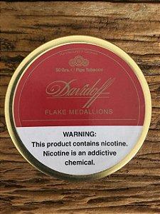 Fumo para Cachimbo Davidoff Flake Medallions 50g