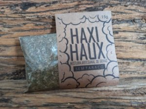 Haxi Haux - Mistura Artesanal de Ervas - Sem Tabaco