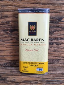 MAC BAREN VANILLA CREAM - 50G