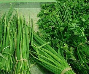 Sementes de Cheiro Verde: 50 Sementes