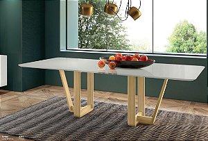 Mesa de jantar sd03 - lib bru retangular ( luxuosa)
