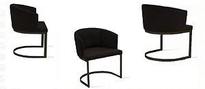 Cadeira sd04- raga c/ braç jho unid