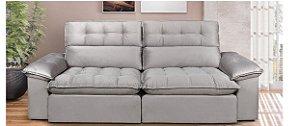 Sofá Retrátil e Articulado com Super Pillow e Conforto