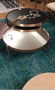 Conjunto de 2 mesas centro ( exclusivo lucimar)