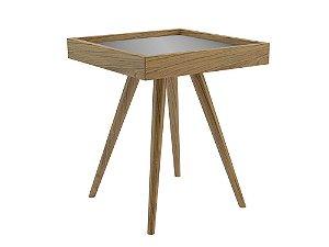 Mesa lateral com espelho