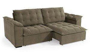 Sofa Retratil Luandra 2,48m