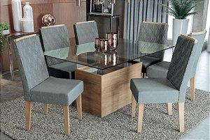 Mesa de jantar com 6 Cadeiras Style
