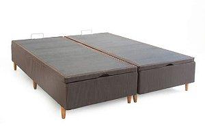 Box Baú  Casal Queen sistema Pistão 1,58 x 1,98