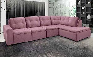Sofá Retrátil com Chaise 322 x 2,01 mts Confort