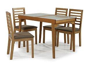 Cjt de Mesa Elástica Maresia com 4 Cadeiras
