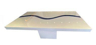 Mesa SD03 nilo azul e branca 1,60 x 0,80 - ESPECIAL