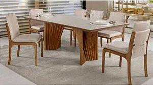 Cjt sala de jantar com 8 Cadeiras 2,20 x 1,10 ( Exclusivo cliente Osmir )