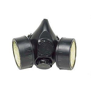 Respirador semi-facial com 2 filtros