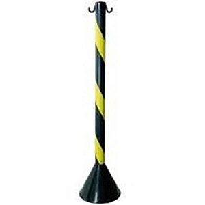 Pedestal Preto e Amarelo