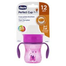 Copo 360 Perfect Cup 12 Meses+ 200ml Rosa Chicco