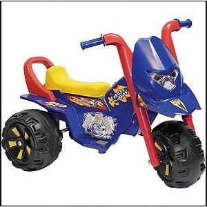 Triciclo Eletrico Fox Gf Azul 6V Biemme